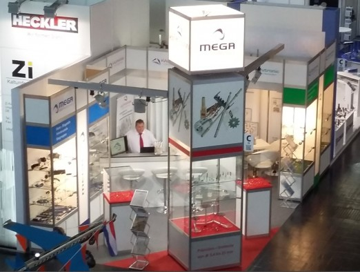 MEGA Messestand